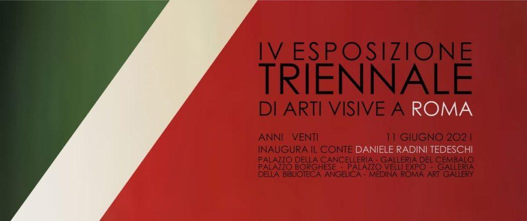 """L'Esposizione Triennale di Arti Visive a Roma: """"Per porre domande e suggerire risposte""""."""