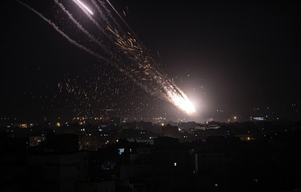 Attacco missilistico di Israele: Netanyahu ha risposto con 7 missili su Gaza