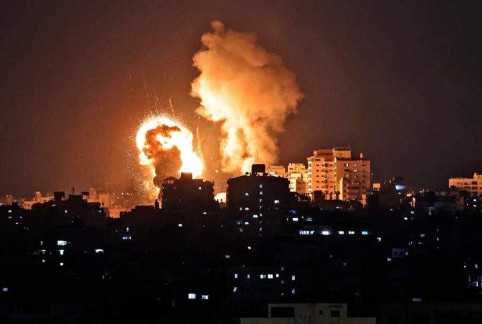 attacco missilistico di Israele