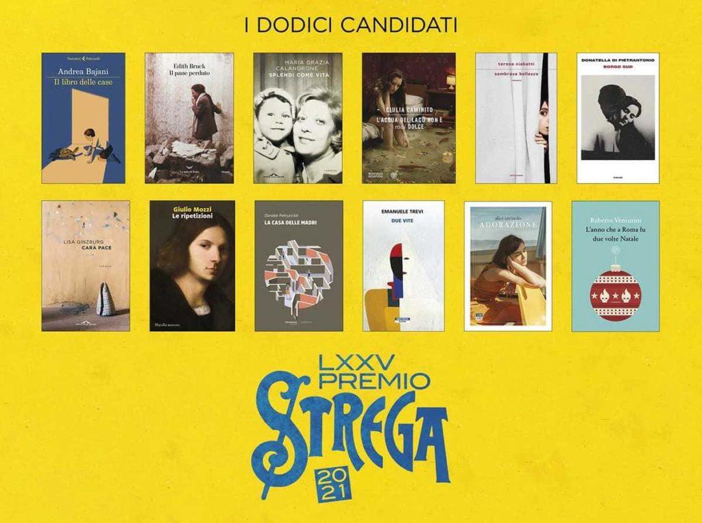 Premio Strega 2021: le finaliste e i finalisti.