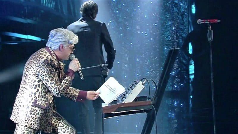 Bugo lascia il palco a Sanremo