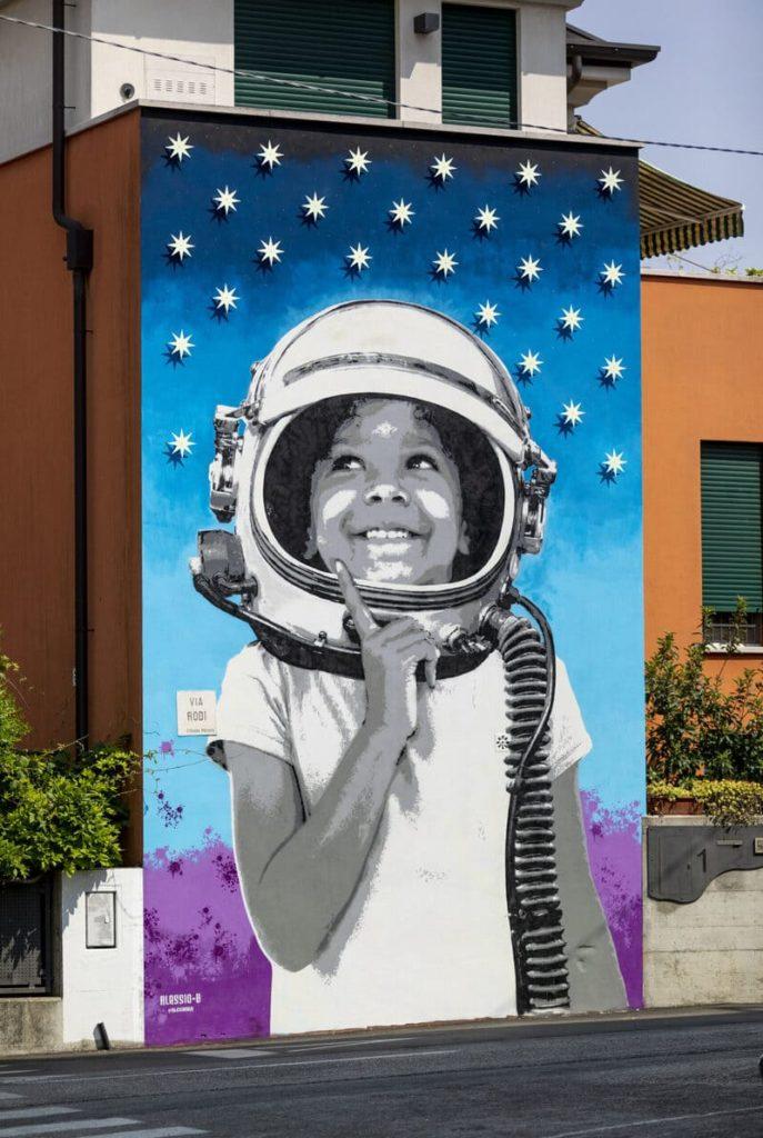 Super Walls 2021, la street art come strumento di valorizzazione del paesaggio urbano.