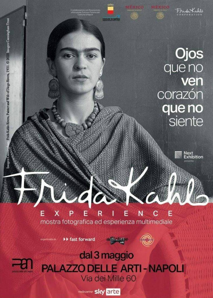 Frida Kahlo in mostra: a Napoli materiale inedito sulla vita della sorprendente artista.