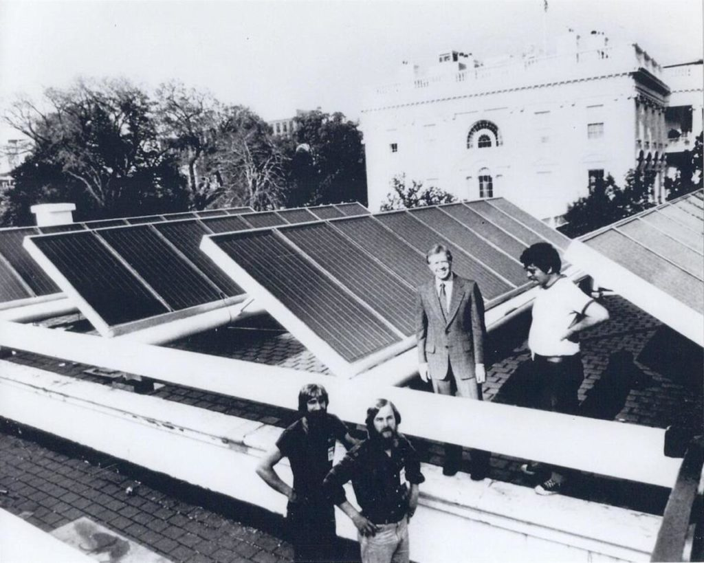 Storia del fotovoltaico_JimmyCarter