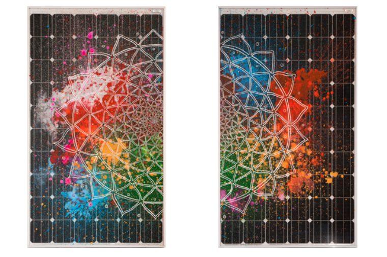 Arte fotovoltaica, riciclo dei pannelli