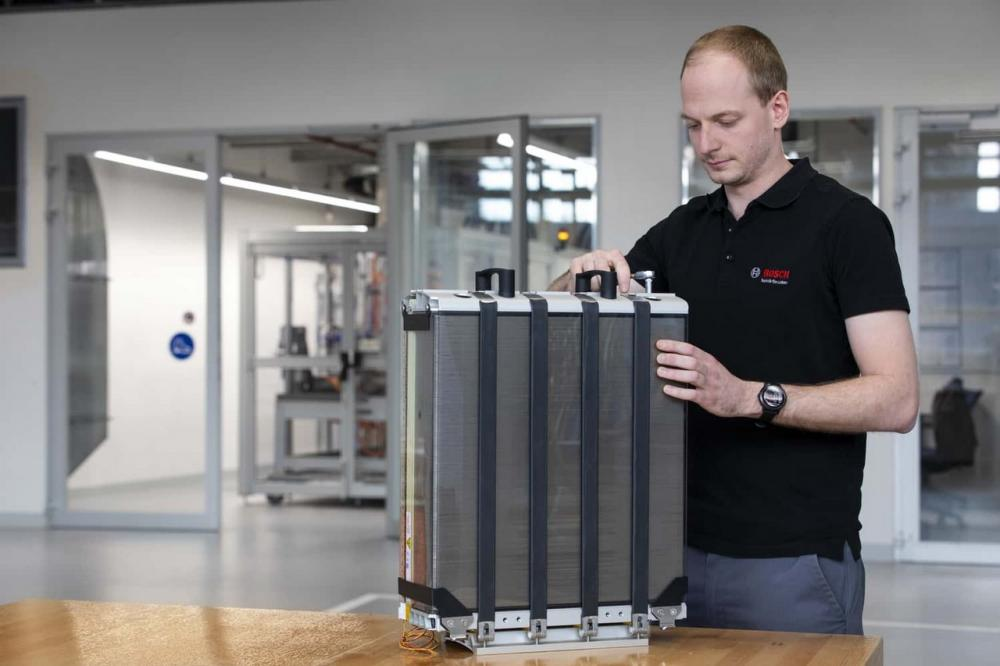 Batterie per le risorse rinnovabili - fuel cells