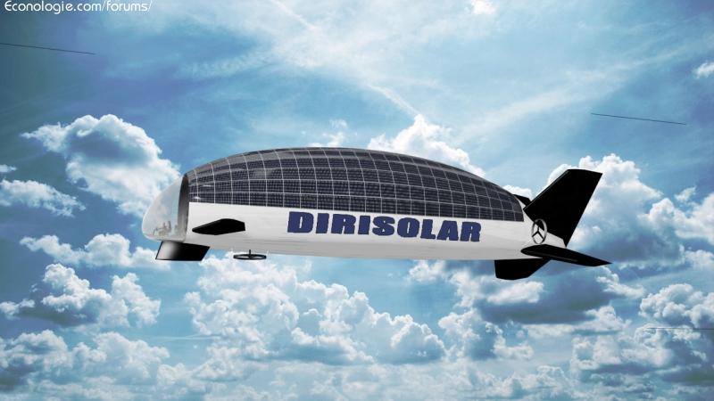 Mobilità solare - dirigibile