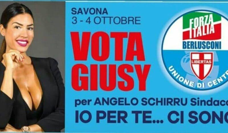 giusy rizzotto_santino elettorale