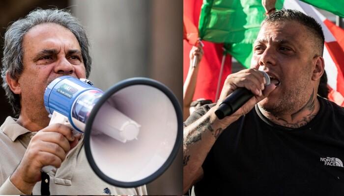 Roma assaltata da No Vax e neofascisti: 12 arresti, tra cui Fiore e Castellino. Il bilancio degli scontri